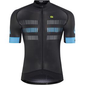 Alé Cycling Graphics PRR Strada Fietsshirt korte mouwen Heren blauw/zwart